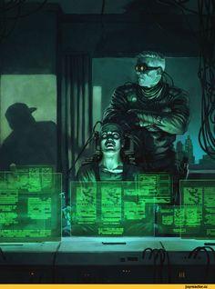 красивые картинки,Sci-Fi,art,арт,cyberpunk,BorjaPindado,Borja Pindado