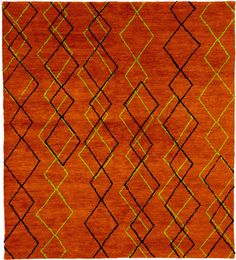 Kurma Hand Knotted Rug from Christopher Fareed at www.ModernRugs.com
