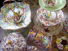 chintz china | CHINTZ CHINA Love my Royal Winton plate