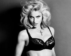 This is a photo of famous singer, Madonna. It contains one of her most famous quotes which relates to feminism. Madonna always stood for women's rights and their abilities to do anything they want. Madonna Hair, Madonna Vogue, Lady Madonna, People Smoking, Music Icon, Pop Music, Material Girls, Lady Gaga, Black And White Photography