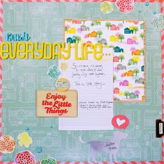 title page. Our Everyday Life by Noell, via Flickr