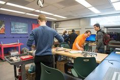 UVM FabLab – The UVM FabLab makes rapid-prototyping tools available to CEMS UVM students and faculty