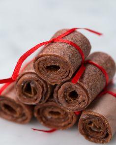 4-Ingredient Kiwi-Strawberry Fruit Leathers
