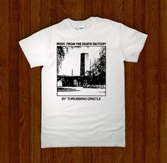 THROBBING GRISTLE Death Factory Shirt - Night Channels