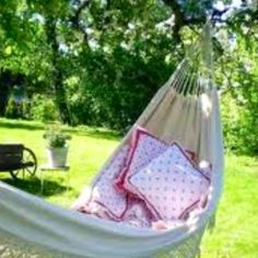 If you can figure them out, hammocks are wonderful :)
