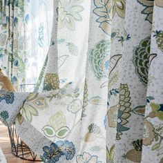 These curtains are pretty pattern, good quality fabric and well made. The drapes with lining are perfect for blackout and decor. They add crisp, neat feeling to your room. Tie Up Curtains, Dining Room Curtains, Outdoor Curtains, Curtains For Sale, Curtain Fabric, Curtain Panels, Leaf Curtains, Pretty Patterns