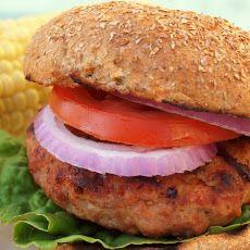 Grilled Turkey Burgers XI Recipe