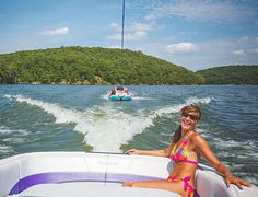 This reservoir in central Missouri has a rep as a full-throttle boating vacation destination.
