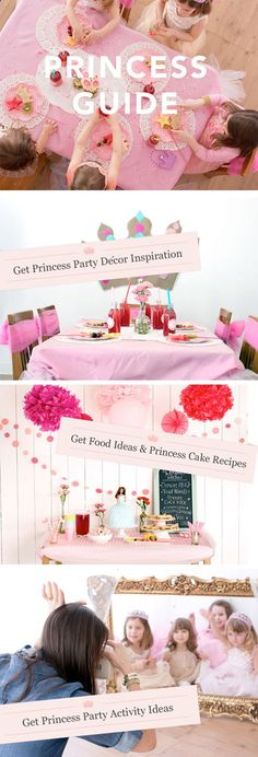 Full guide to hosting a Princess Party including planning checklist!