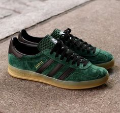 Adidas Gazelle Indoor Dark Green/ Black