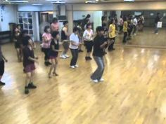 Gangnam Style - Line Dance (Demo & Walk Through)...easy to learn