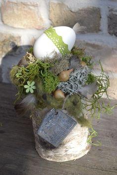 Tischgesteck-Osternest 2- von Moneria auf DaWanda.com