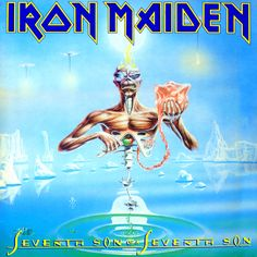 Iron Maiden - The Seventh Son of a Seventh Son - 1988 Album Cover