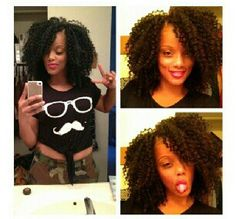 Crochet braids: Great protective style