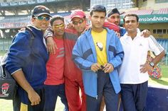 Dada with his team