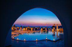 Wedding at Rocabella Santorini wedding venue