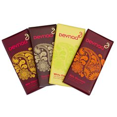 Indian Inspired Chocolate Bar Gift Set by Devnaa $16.73