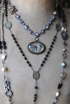 great necklaces together.