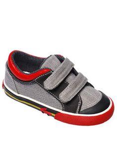 Grijze Ronan sneakers - See Kai Run