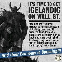 IT'S TIME TO GET ICELANDIC ON WALL STREET!