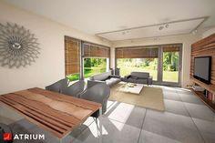 Wnętrze projektu Polo - wizualizacja 2 Minimal House Design, Simple House Design, Minimal Home, Home Building Design, Building A House, Outdoor Furniture Sets, Outdoor Decor, Design Case, Home Fashion
