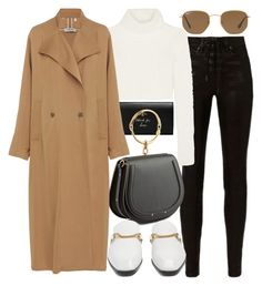 """""""Untitled #22036"""" by florencia95 ❤ liked on Polyvore featuring Gucci, rag & bone, Roberto Cavalli, Chloé, Rachel Comey, STELLA McCARTNEY and Ray-Ban"""