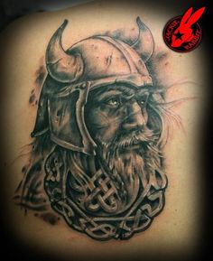 Viking tattoo. I might need one. Minus the crap celtic stuff at the bottom.