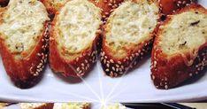 Φτιάξτε αγαπημένο Σκορδόψωμο Finger Foods, Baked Potato, Banana Bread, French Toast, Muffin, Food And Drink, Baking, Breakfast, Ethnic Recipes
