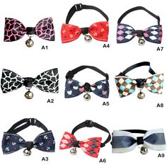 Collar Pet Bow Tie Bells //Price: $7.95 & FREE Shipping //     #Beauty3