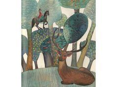"""Svetlana Akateva illustration for """"Baron Munchausen"""". Baron, Once Upon A Time, Illustrator, Painting, Painting Art, Paintings, Ouat, Painted Canvas, Illustrators"""