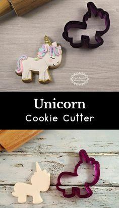 Unicorn Cookie Cutter and Fondant Cutter and Clay Cutter #affiliate