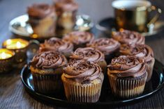Tropisk Aroma-muffins Mini Cupcakes, Granola, Muffins, Food And Drink, Sweets, Baking, Breakfast, Desserts, Recipes