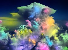 Cotton Candy Clouds I