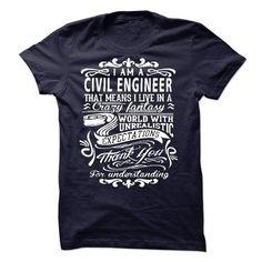 I am a Civil Engineer T Shirts, Hoodies. Get it here ==► https://www.sunfrog.com/LifeStyle/I-am-a-Civil-Engineer-19051221-Guys.html?57074 $23