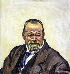 Ferdinand Hodler Self-Portrait 1916