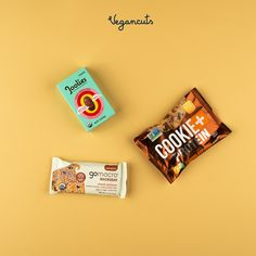 Joolies Dates: 3 Pitted Organic Medjool Dates Snack Pack Go Macro: Double Chocolate +Peanut Butter Chips Macrobar Cookie+Protein: Chocolate Chip Cookie with Protein  May Vegancuts Snack Box has more treats to offer.