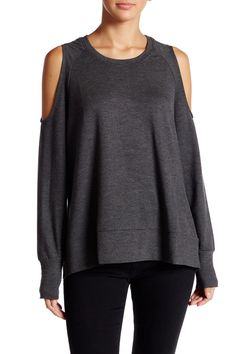 Reyanne  Slouchy Cold Shoulder Pullover by C & C California on @nordstrom_rack