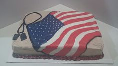 Cake for Basic Training going away party