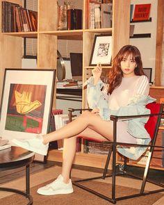 Jisoo for Adidas Korean Women, South Korean Girls, Korean Girl Groups, Adidas Dress, Adidas Outfit, Pinterest Instagram, Blackpink Members, Jennie Lisa, Blackpink Fashion