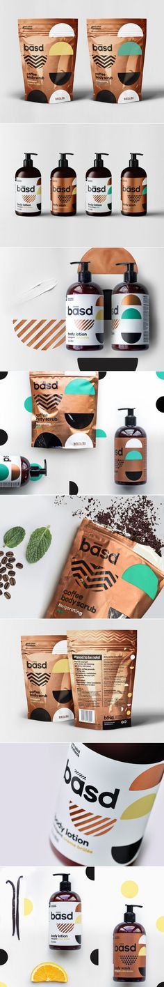 Basd Body Care Product Packaging by Dossier | Logo Designer Bradenton, Web Design Sarasota, Tampa Fivestar Branding Agency #skincare #skincarepackaging #packaging #package #packagedesign #packaginginspiration #design #designinspiration