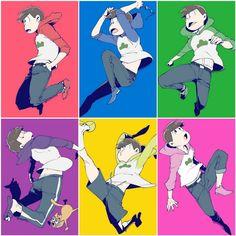 Anime Guys, Manga Anime, Japanese Show, I Really Love You, Ichimatsu, Pin Art, Cool Art, Character Design, Fandoms