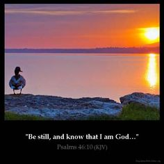 Inspirational Image for Psalms 46:10