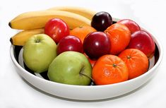 You have to eat right too. Fresh fruit!