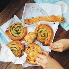 Anything from Du Pain et des Idées | From its amazing pain des amis to its rolls, Du Pain et des Idées, located close to the Canal St Martin, is hands down THE best bakery in the city.