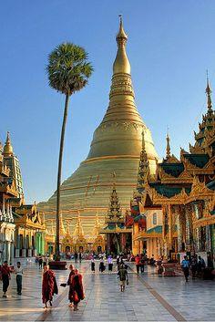 Dagon Pagoda, Birmanie