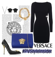 """""""Versace"""" by cherieaustin ❤ liked on Polyvore featuring moda, Versace y pvstyleinsider"""