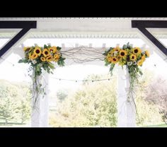 Excited to share this item from my etsy shop: Sunflower Fall Wedding Arch/Wedding Arbor Swag sunflowers 445223113164415251 Wedding Ceremony Ideas, Fall Wedding Arches, Wedding Venues, Wedding Day, Arch Wedding, Simple Wedding Arch, Wedding Photos, Wedding Reception, Rustic Wedding