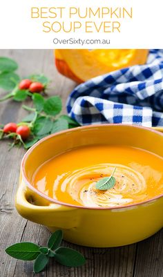 Best Pumpkin Soup Ev