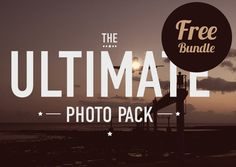 The Ultimate Photo Pack PSD files #freepsdfiles #psdgraphics #vectorgraphics #freeicons