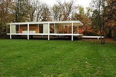 Farnsworth House - by Greg Robbins